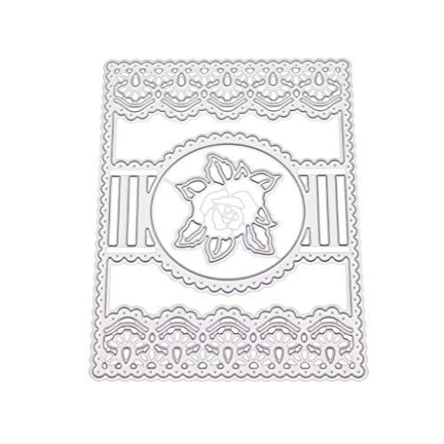 WT-YOGUET Flower Metal Cutting Dies Stencil DIY Scrapbooking Album Stamp Paper Card...