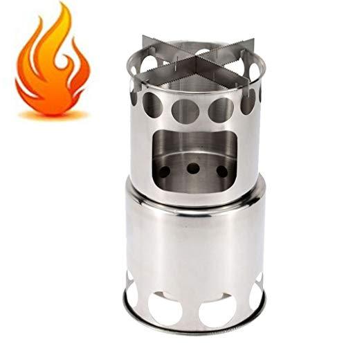 WXJHA Charcoal Chimney Starter, Stahl, Grill Lighter, Ofen, Grill Chimney Starter BBQ Charcoal Barrel Barrel Zündschloss Carbon-Stahl Grill Anzünder Kohlenstoff