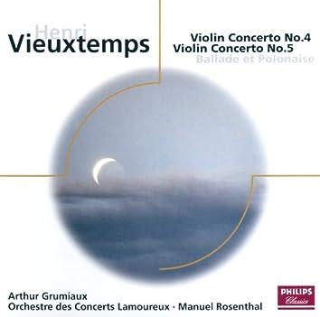 Vieuxtemps: Violin Concertos Nos.4 & 5 etc