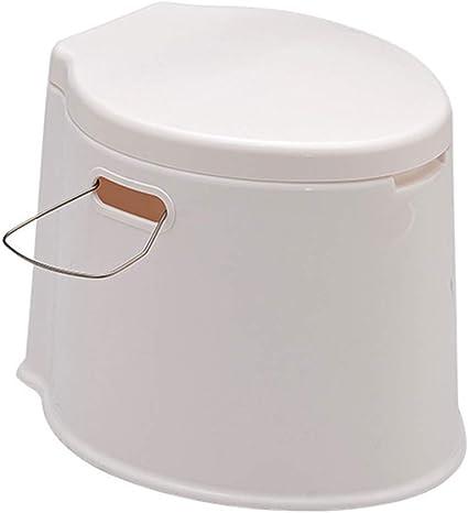Amovible Toilette De Camping Avoir Porte Serviettes Toilette De Randonn/ée Camping WC Chimique pour Camping WC Ext/érieur Voyage Toilette Mobile La Taille H59*D78Cm HYCZW Toilette Portable