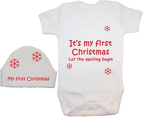 Acce Products - Ensemble - Manches Courtes - Bébé (garçon) 0 à 24 mois, Blanc, 3-6 mois
