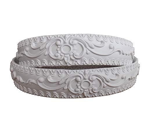 Flexible Moulding Ceiling Crown Molding Trim Veranda Vinyl Furniture Home Decor 1.4