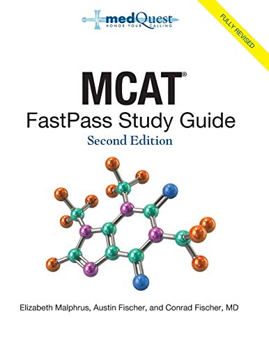 MCAT FastPass Study Guide, 2nd edition