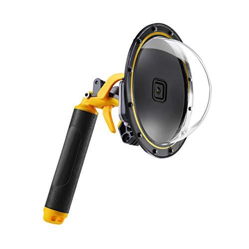 para GoPro Dome Hero 9 Black Carcasa Impermeable para Domo gopro 9 con empuñadura de gatillo Flotante para cámara de acción (Dome GoPro 9)