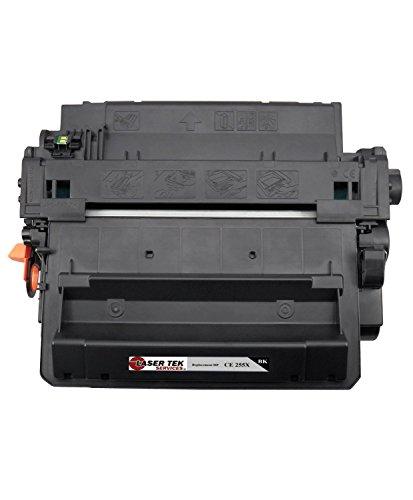 Laser Tek Services High Yield Toner Cartridge 2 Pack Compatible with HP LaserJet P3011 P3015 P3015d CE255X Photo #7