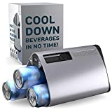 The InnoChiller – Speed Up Your Freezer, for All Types of Beverages, Wine Chiller, Beer Cooler, Ice Cube Maker, Cool...