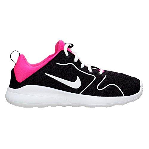 Nike Damen Kaishi 2.0 (GS) Laufschuhe, Black (Schwarz/Weiß-Hyper Pink), 38 EU