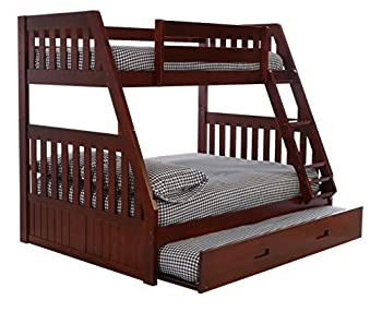Discovery World Furniture Twin Over Merlot Bunk Bed