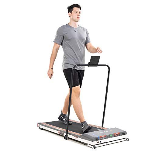 CITYSPORTS Tapis de Course Pliant, Fitness Bureau/Domicile, Tapis de Marche Electrique 1-6 km/h, Facile à Déplacer et à Ranger,Salle De Sport Silencieuse et Confortable