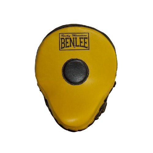 BENLEE Rocky Marciano Hook & Jap Pads Jersey Joe, Schwarz/Gelb, Größe: OneSize