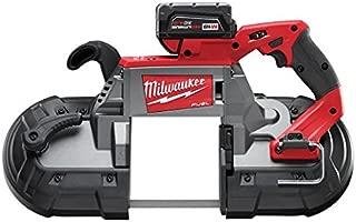 Milwaukee 2729-22 M18 Fuel Deep Cut Band Saw 2 Bat Kit