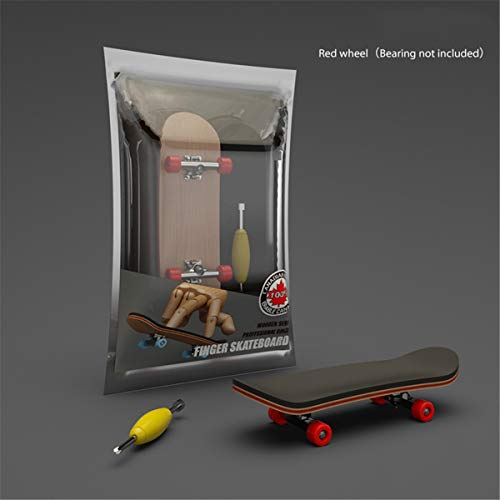 NA. Finger SkateBoard Diapasón de madera de juguete profesional Stents Finger Skate...