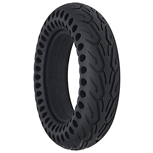 ASZX Electric Scooter Tires, 10 Inch 10x2.50 Honeycomb Explosion-Proof Solid Tires, Wear-Resistant Anti-Skid High Elastic Tire Honeycomb Hollow Shock Absorption