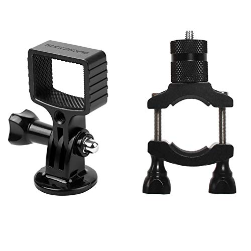 Absir Sunnylife Aluminum Alloy Adapter Kit Bicycle Bracket Clamp Clip Bike Mount for DJI OSMO POCKET Gimbal GOPRO Camera