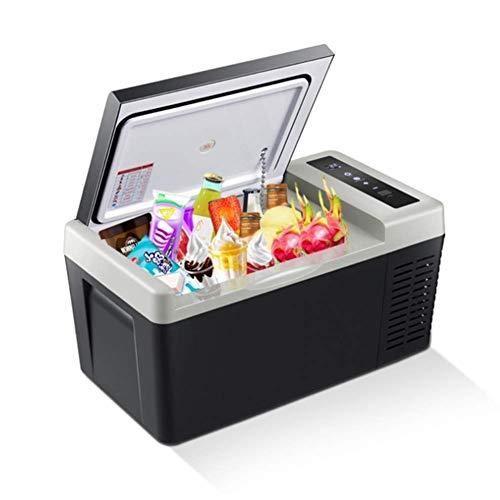 Fantastic Deal! RMXMY Car Mini Refrigerator Cool and Warm Electric Cool Box, Dual Voltage Car Refrig...
