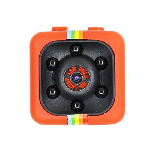 SYLOZ-URG Mini cámara Detección de Movimiento Secreto DVR Micro Camera Deporte DV HD 1080P Visión Nocturna Video Video Ultra pequeña CAM SYLOZ-URG (Color : Red Add 16GB)