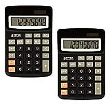 Best Basic Calculators - Desktop Calculators, Handheld Angled 8-Digit LCD Display, 2 Review
