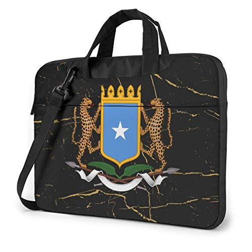 Escudo de Somalia Bolso para portátil Bolso Bandolera Bolso para Ordenador Maletín Bolso Bandolera Inclinado