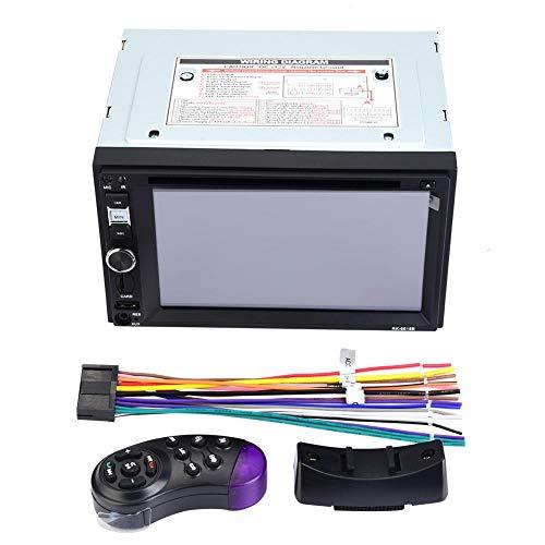EBTOOLS Universele autoradio, MP5, dvd-speler, digitale touchscreen, met USB-kabel, afstandsbediening op het stuur