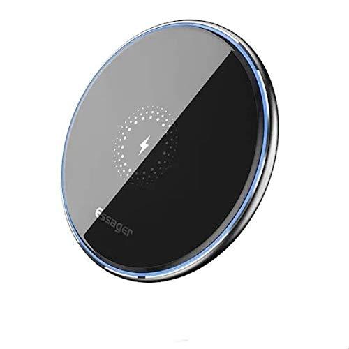 Carregador Wireless Indução Qi Essager iPhone X Samsung S10.