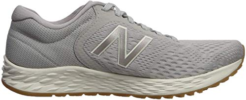 New Balance Women's Fresh Foam Arishi V2 Running Shoe, Overcast/Champagne Metallic/Sea Salt, 5 M US