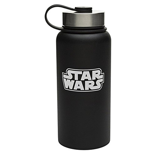 STAR WARS - Botella de agua de acero inoxidable diseño de La Guerra de las Galaxias (976 ml/Multi-Colour)