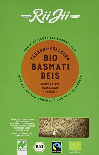 RiiJii Taraori-Vollkorn Basmati Reis