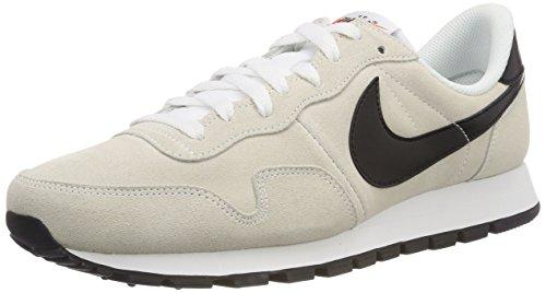 Nike Herren Air Pegasus 83 Ltr Laufschuhe, Beige (White/Black/Summit White/Safety Orange 100), 38.5 EU