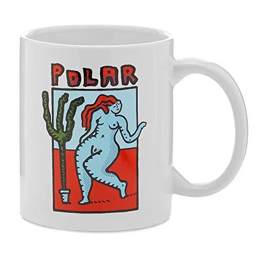 Polar Skate (ポーラー) マグカップ 陶器 コップ Cactus Dance Mug White (ホワイト)