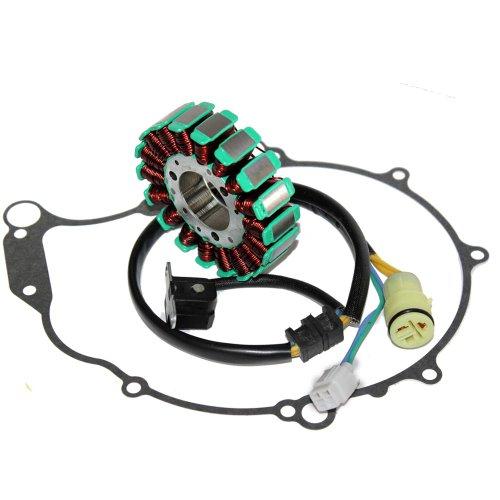 Caltric Stator & Gasket Compatible With Yamaha Raptor 660 660R Se Yfm660R 2005 Atv New