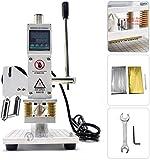 FASTTOBUY 10 x 13 cm Hot Foil Stamping Machine 500 W Macchina per goffratura a caldo in pelle e PVC