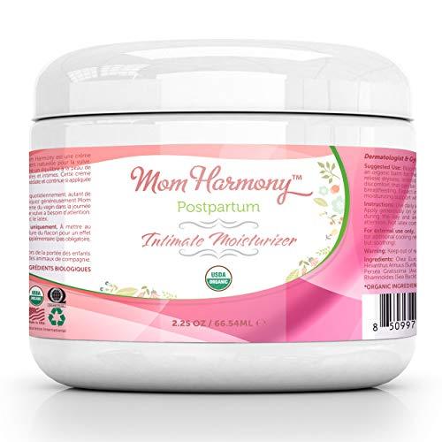 Crema Hidratante Vaginal USDA Organic – Armonía para Mamás - Crema Vaginal Natural Bálsamo Vulvar – Crema para la Piel Íntima - Reduce la Sequedad Vaginal & el Picor - Tratamiento Sin Estrógenos