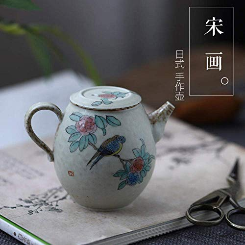Fantastic Deal! ZYL-YL Ceramic Porcelain Hand-Painted_Jingdezhen Full-Painted Flowers and Birds, Emb...