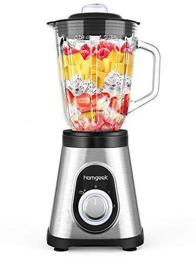 Homgeek Blender 750W, Smoothie B...