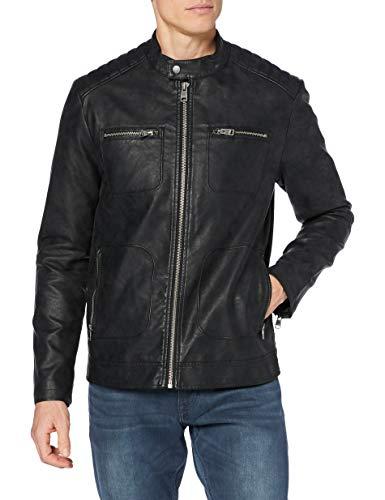 ESPRIT Herren 120EE2G305 Jacke, 001/BLACK, M