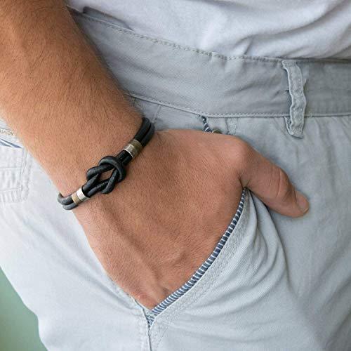 Men's Bracelet - Men's Leather Bracelet - Men's Infinity Bracelet - Men's Celtic Bracelet - Men's Cuff Bracelet - Men's Jewelry - Guys Jewelry - Jewelry For Men - Bracelets For Men - Male Jewelry