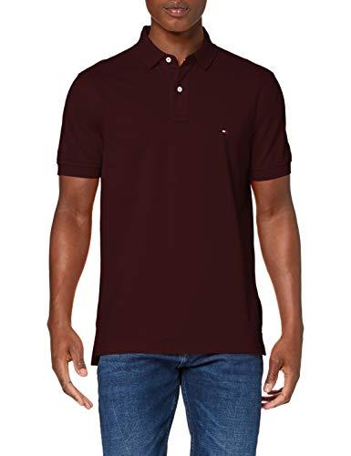 Photo of Tommy Hilfiger Men's Tommy Regular Polo Shirt, Deep Burgundy, XS