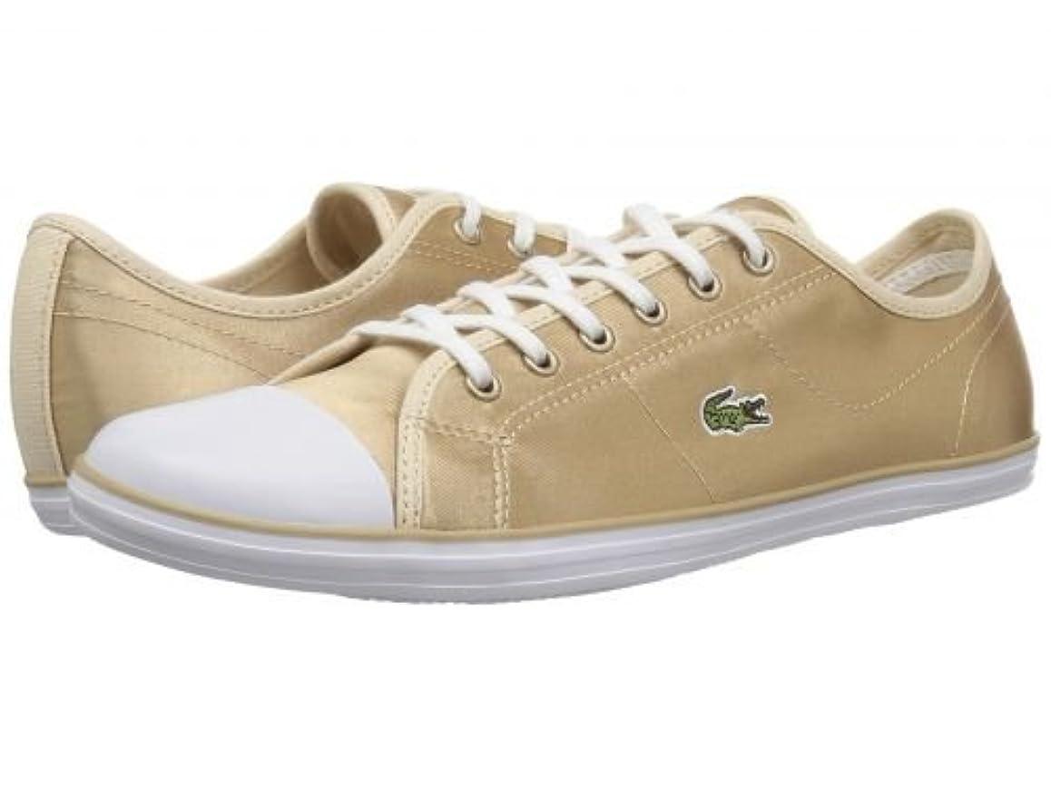 雲生き返らせる構想するLacoste(ラコステ) レディース 女性用 シューズ 靴 スニーカー 運動靴 Ziane Sneaker 118 2 - Gold/White [並行輸入品]