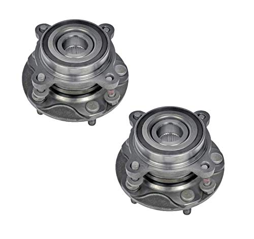 Bodeman - Pair 2 Front Wheel Hub and Bearing Assembly for 2008-2018 Toyota Sequoia/ 2007-2018 Toyota Tundra Pickup Truck - 4WD ONLY