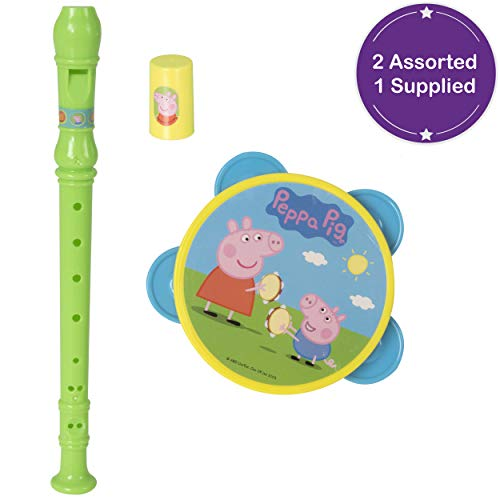 Tavitoys Peppa Pig Set Musical Pandereta Silbo Y Flauta