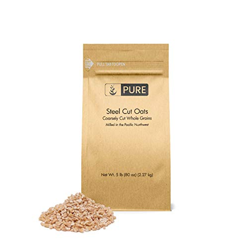 Steel Cut Oats (5 lb.) by Pure Organic Ingredients, also called Irish Oatmeal