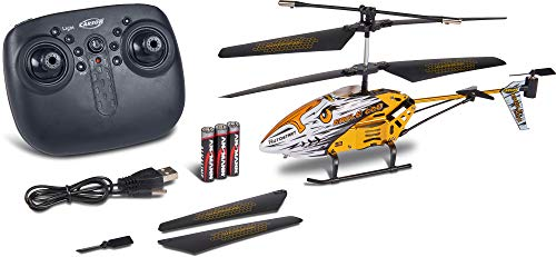 Carson Eagle 220 Autostart 2.4G RTF, RC, Ferngesteuerter Helikopter, Hubschrauber, inkl. Batterien und Fernsteuerung, 100{7856a97f8ab94f757131834e6d3d4e6872ac542c9c5bfbaac47ee14ba7b948dc} flugfertig, 500507151