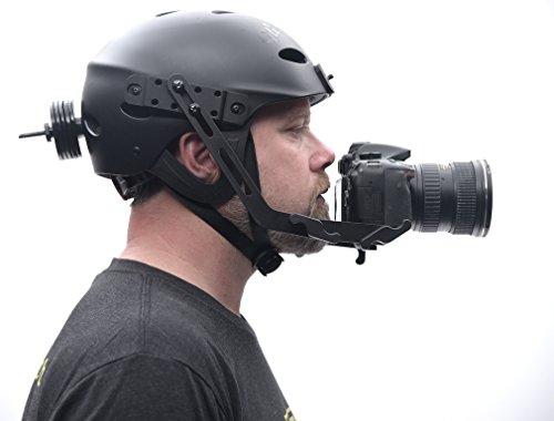 Glide Gear POV 100 Video Camera DSLR POV Helmet