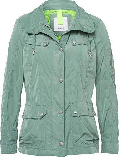 BRAX Damen Style Capri New Nylon Jacke, SAGE, (Herstellergröße: 40)