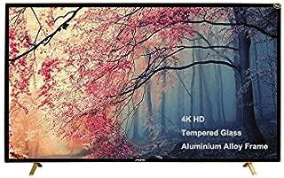 MEWE 55-Inch 4K Tempered glass screen Metal Frame Smart LED TV -TA5500
