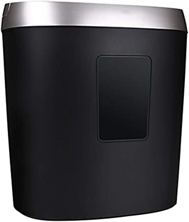$196 Get WHJ@ Paper Cutter 5 Pieces of Heavy Cross-Cut Paper/Cd/Credit Card Shredder, 5 Minutes Running Time, Black and White, 4 Levels of Protection