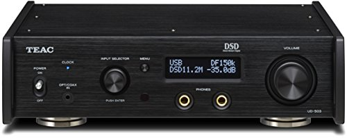 Teac UD-503-B Dual-Monaural USB DAC with Headphone Amplifier Black