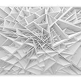 murando Papier peint intissé 300x210 cm Décoration Murale XXL Poster Tableaux Muraux Tapisserie Photo Trompe l'oeil Abstraction 3D a-B-0039-a-a