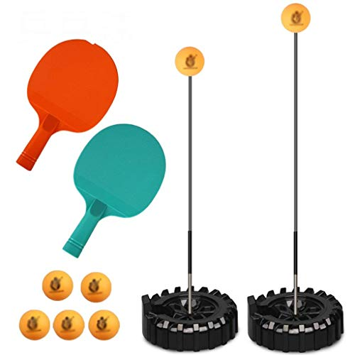 aycpg Mesa de Ping Pong Trainer elástico del Eje Trainer Mesa de Ping Pong for niños Mesa de Ping Pong Juego