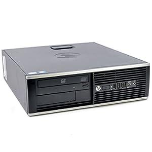 HP - Case EliteDesk 8300 SFF Intel Core i7 512GB SSD, hard disk, RAM da 16 GB, Windows 10 Pro, con masterizzatore DVD (certificato e rigenerato)